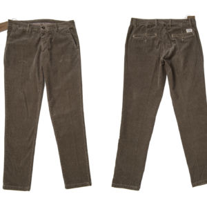mod. IVintage Chinos (Unisex) - fabric: Velluto Stampato